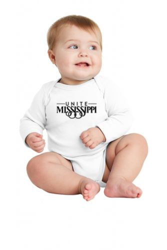 UNITE MS Infant LS Baby Onsie