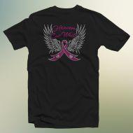 Heaven Can Wait Breast Cancer Nailhead